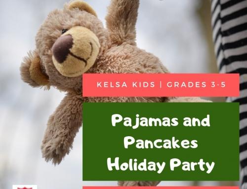 Kelsa Kids – Pajamas & Pancakes Holiday Party